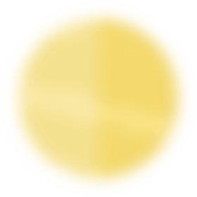 floating yellow planet